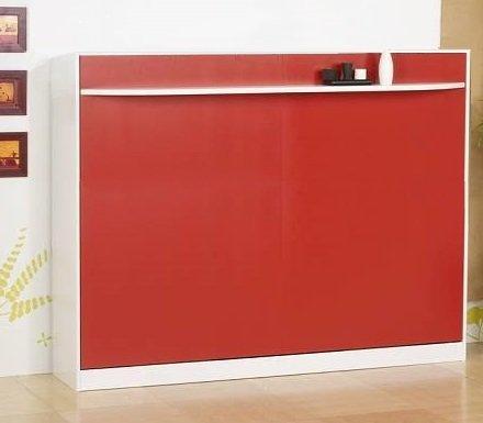 lit escamotable 140 cm transversale studio 2000 griffon. Black Bedroom Furniture Sets. Home Design Ideas