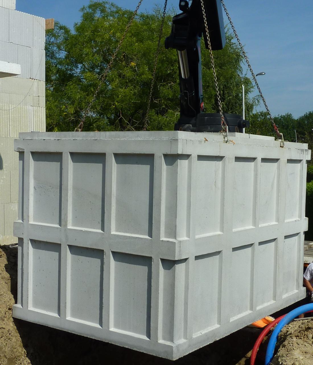 Cuve beton 15m³ dramix - Cuve Beton