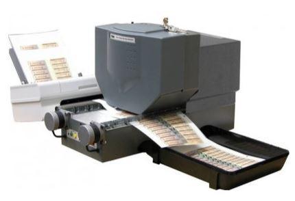 Machine à hologrammes h21, automatique feuille à feuille