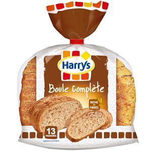 HARRY'S BOULE PAIN COMPLÈTE TRANCHÉ 400 G