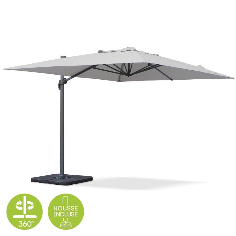 Parasol claire tous les fournisseurs de parasol claire - Parasol rectangulaire deporte inclinable ...
