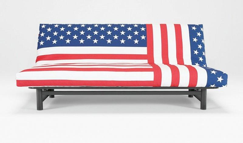 fuji clic clac convertible lit innovation usa flag. Black Bedroom Furniture Sets. Home Design Ideas