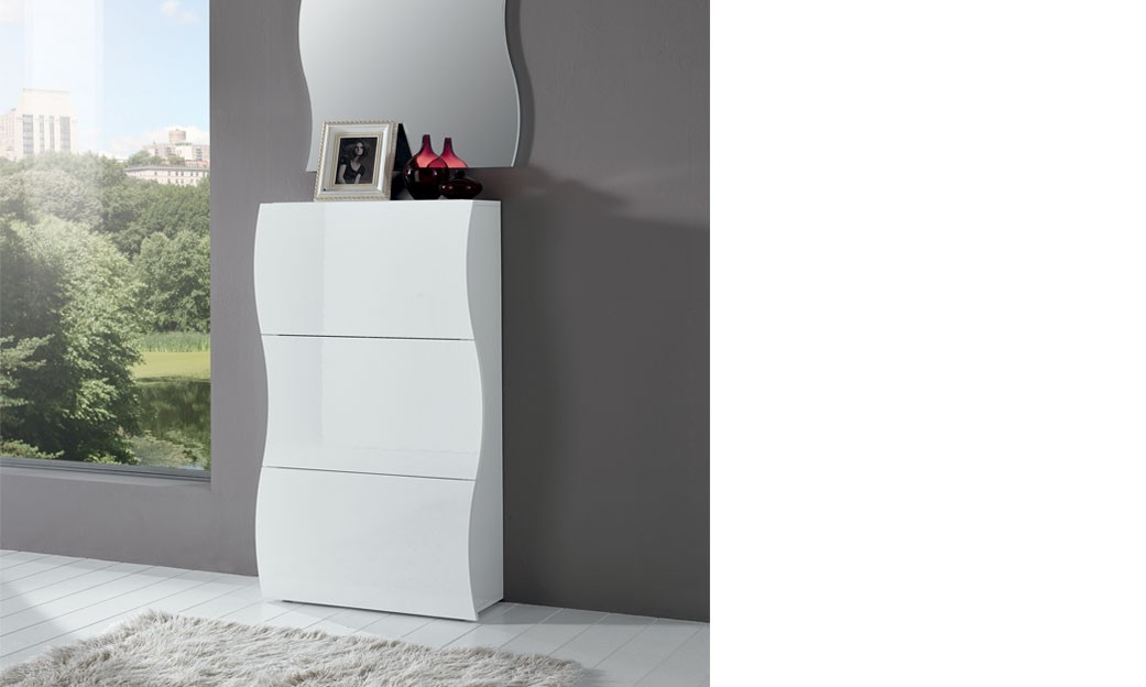 stunning meuble chaussure laque blanc conforama range. Black Bedroom Furniture Sets. Home Design Ideas