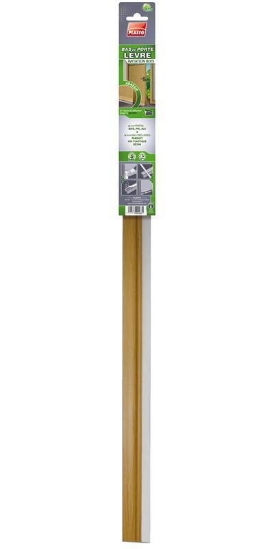 Accessoires de portes plasto achat vente de - Adhesif imitation bois ...