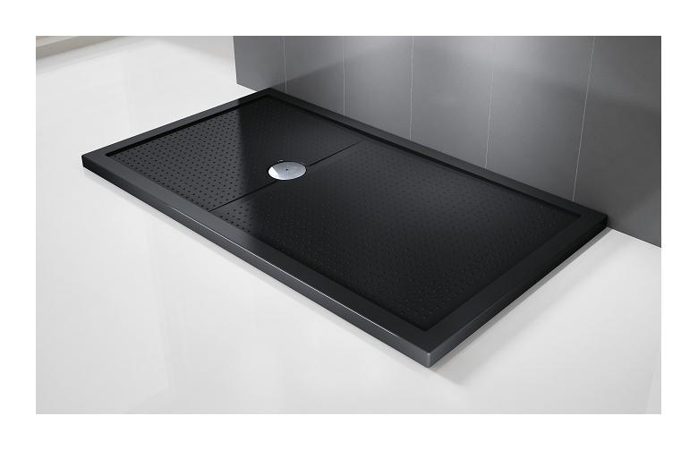 receveur rectangulaire h 4 5 cm novellini olympic plus noir 140 x 75 novellini box. Black Bedroom Furniture Sets. Home Design Ideas