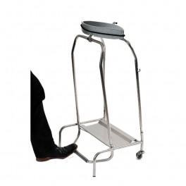 support sac poubelle mobile hermetique 70 a 110 litres. Black Bedroom Furniture Sets. Home Design Ideas