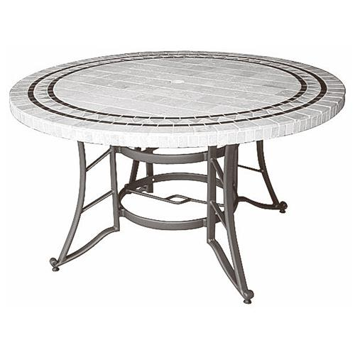Hedone produits tables de jardins for Plateau table ovale