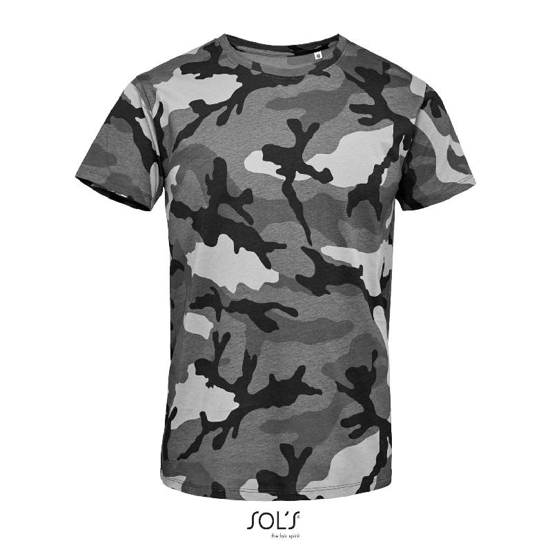Tee-shirt homme col rond camo men - référence : 6mrnkw