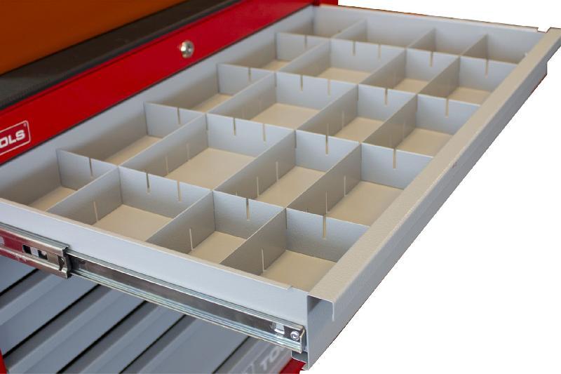 Lattes de séparations pour tiroirs gw207 mw-tools lv207