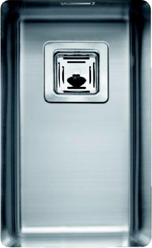 Sanizeo evier cuve inox sous plan smr 1840 inox lisse for Evier cuve inox