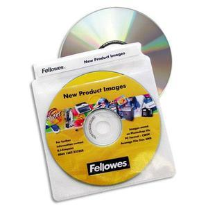 FELLOWES P/100 ENVELOPPES PLASTIQUE CD/DVD 9831201