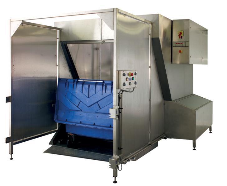 Machine lave conteneurs