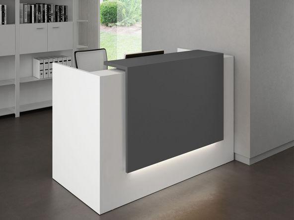 Bureau d 39 accueil design gamme atrium comparer les prix for Produit bureau