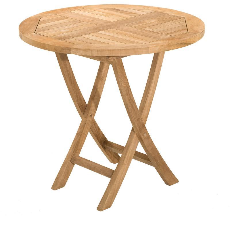 table ronde pliante en teck 80 cm m s comparer les prix de table ronde pliante en teck 80 cm. Black Bedroom Furniture Sets. Home Design Ideas
