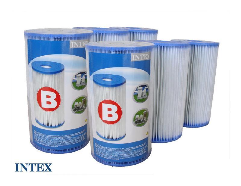 6 cartouches de filtration 39 b 39 intex comparer les prix de 6 cartouches de filtration 39 b. Black Bedroom Furniture Sets. Home Design Ideas