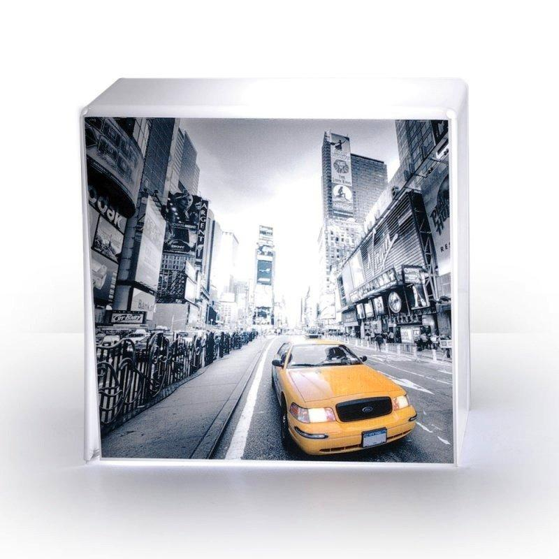 lampe cube taxi plexi acrila design. Black Bedroom Furniture Sets. Home Design Ideas