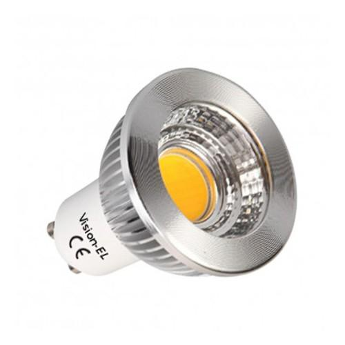 Ampoule led 5 watt culot gu10  cob 3000° non dimmable 80°  boi