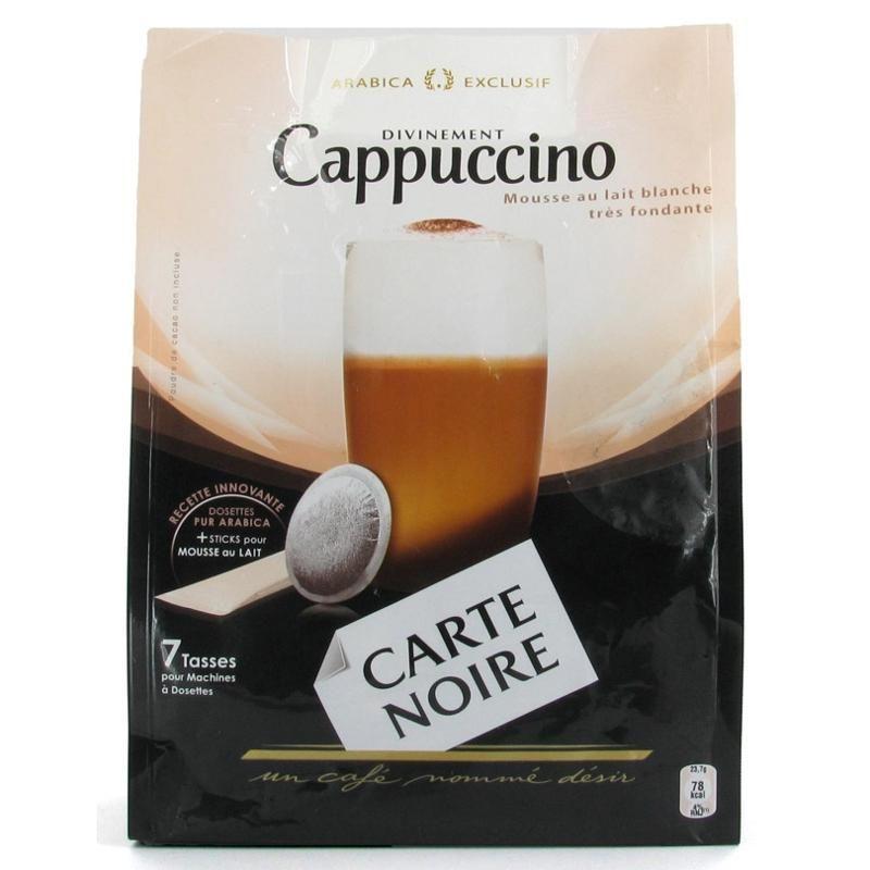 dosettes de caf cappuccino comparez les prix pour professionnels sur page 1. Black Bedroom Furniture Sets. Home Design Ideas