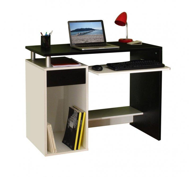 inside75 produits de la categorie bureaux droit en melamine. Black Bedroom Furniture Sets. Home Design Ideas