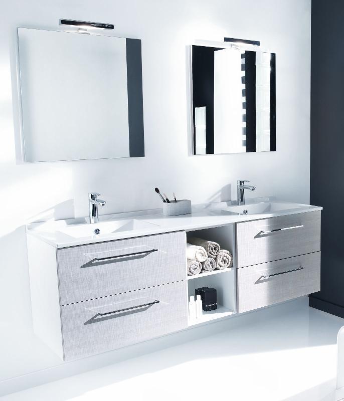 Mobiliers de salle de bain ambiance bain achat vente for Finition meuble