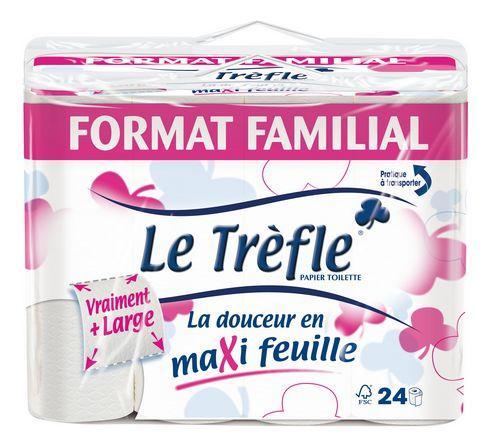 Papier toilette le tr fle achat vente de papier toilette le tr fle comparez les prix sur - Produit contre le trefle ...