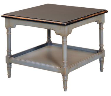 table basse carr e l 61 cm en bois massif 39 39 dordrecht 39 39 comparer les prix de table basse carr e. Black Bedroom Furniture Sets. Home Design Ideas