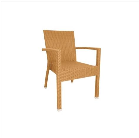 4 chaises en rotin naturel. Black Bedroom Furniture Sets. Home Design Ideas