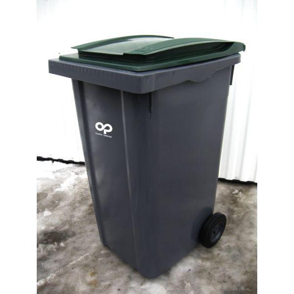 conteneur poubelle basculement frontal 240 litres comparer. Black Bedroom Furniture Sets. Home Design Ideas