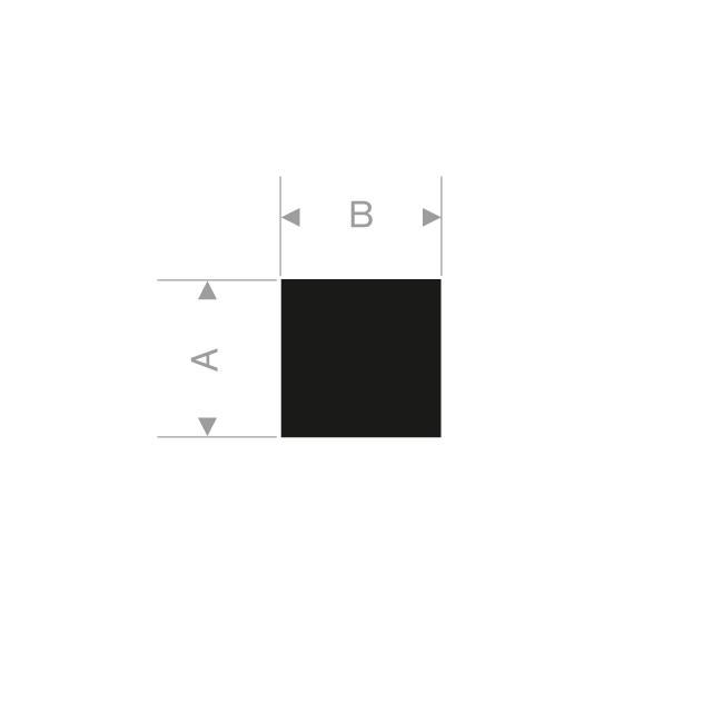CORDE RECTANGULAIRE 15 X 15