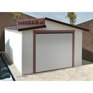 Garage bois porte coulissante - s8248-torino