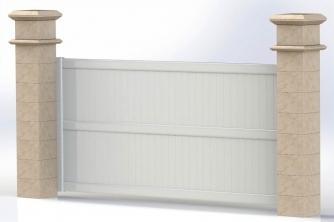 vial habitat produits portails coulissants. Black Bedroom Furniture Sets. Home Design Ideas