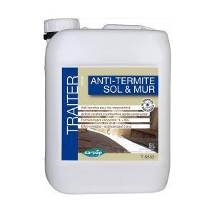 Traitement termites sols et murs 15 litres sarpap