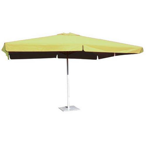 parasol aluminium rectangulaire 3x4m alu d honfleur vert anis comparer les prix de parasol. Black Bedroom Furniture Sets. Home Design Ideas