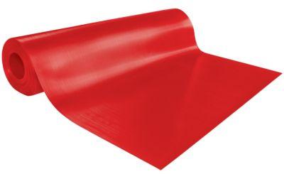 Tapis de sol et d39etabli rouleau de 25 m de long rouge for Tapis couloir avec canapé au sol modulable