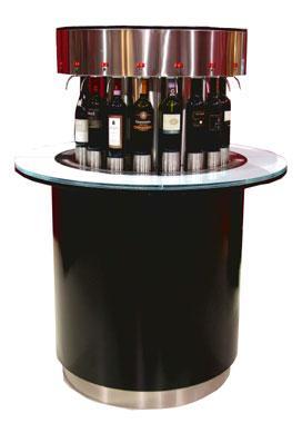distributeur de vins enoround classic modele enoline 4 ref. Black Bedroom Furniture Sets. Home Design Ideas