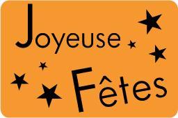 Etiquette paquet cadeau - réf10