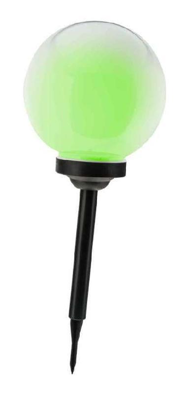 lampe boule solaire multicolore 25 cm et h 40 cm p. Black Bedroom Furniture Sets. Home Design Ideas