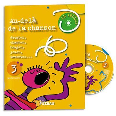 LIVRET AVEC PARTITIONS ET CD D'APPRENTISSAGE DU CHANT, 10 TITRES, 24 PAGES, POUR CYCLE 1