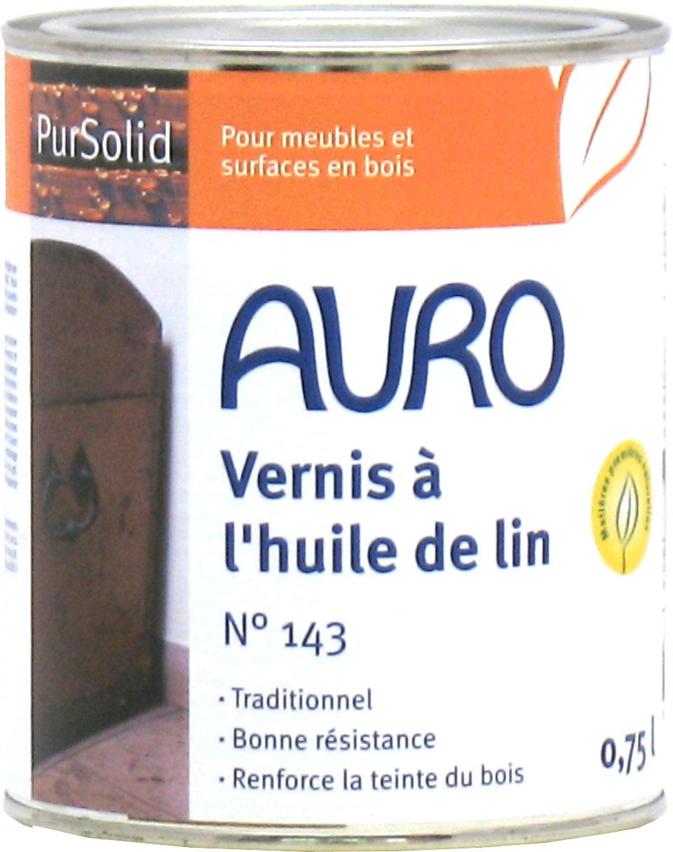 VERNIS NATUREL À L'HUILE DE LIN AURO 143