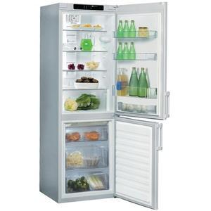 whirlpool refrigerateur combine wbe3325nfts wbe 3325 nfts inox mat. Black Bedroom Furniture Sets. Home Design Ideas