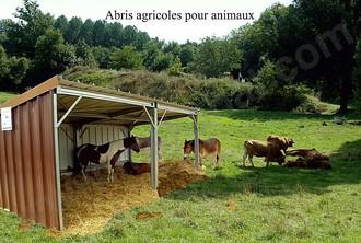 abris agricole pour animaux. Black Bedroom Furniture Sets. Home Design Ideas