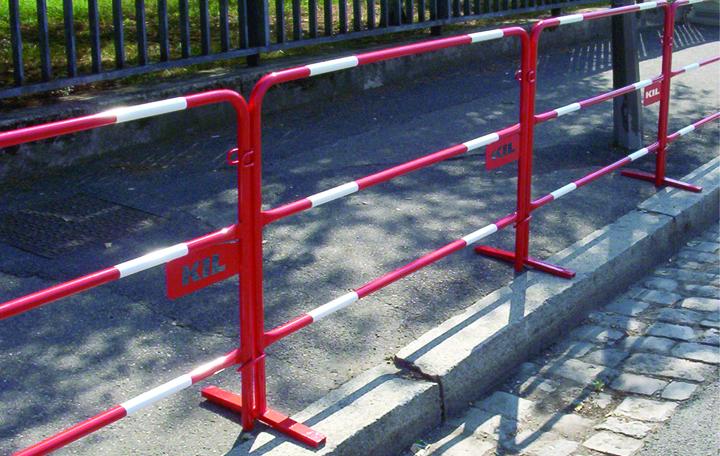 Barrières mobiles de sécurité