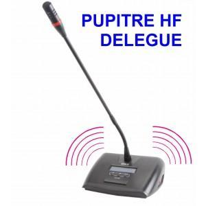 Pupitre de conference sans fil délégué - ht-2288d
