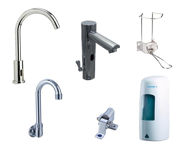 Sanitaire hospitalier et accessoires - Accessoires sanitaire pour handicapes ...