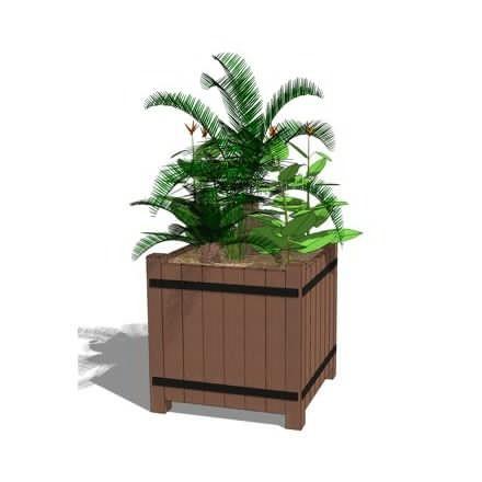 Bacs a fleurs et jardinieres tous les fournisseurs for Bac a plante exterieur
