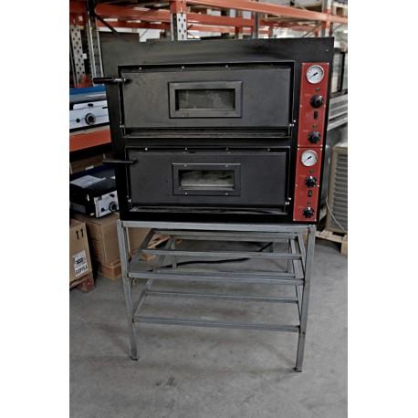 four a pizza electrique double occasion. Black Bedroom Furniture Sets. Home Design Ideas