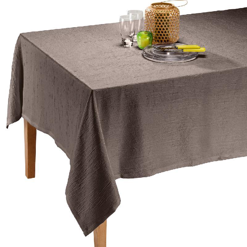 nappe satine taupe 150 x 250 cm. Black Bedroom Furniture Sets. Home Design Ideas