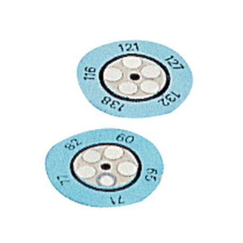 10 INDICATEURS IRRÉVERSIBLE THERMAX CLOCK 5 T DE 88 À 110 C