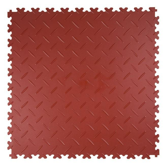 DALLES PVC DIAMANT TERRA COTTA