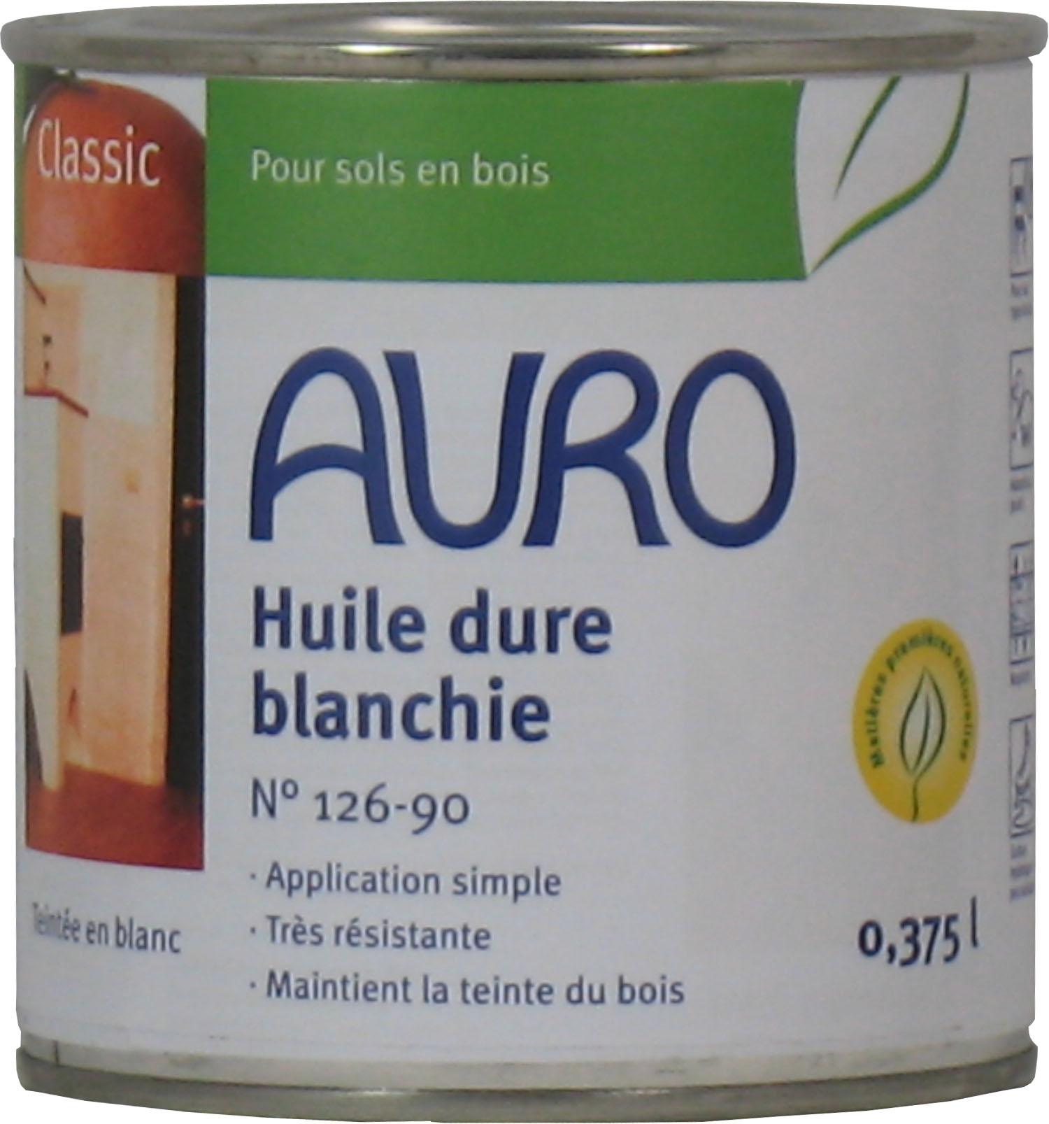 HUILE DURE BLANCHIE AURO 126-90
